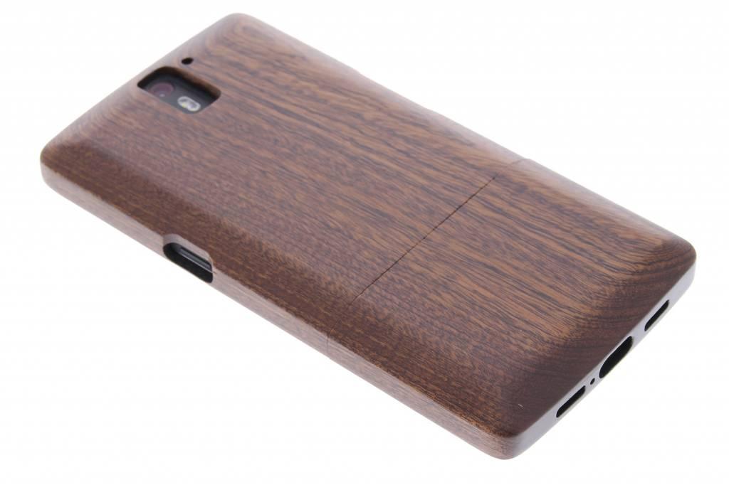 Echt houten hardcase voor de OnePlus One