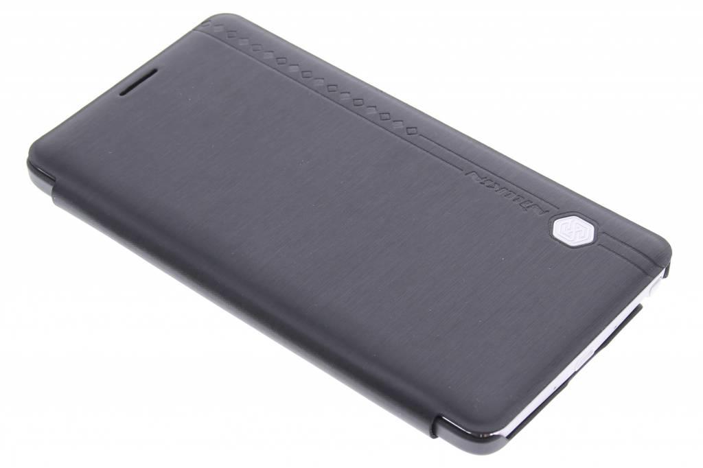 Rain series slim booktype hoes voor de Samsung Galaxy Note 4 - zwart