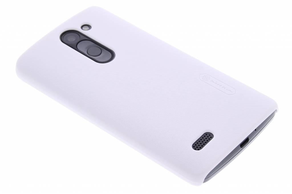 Nillkin Frosted Shield hardcase voor de LG L Bello / L80 Plus - wit