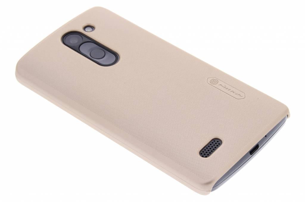 Nillkin Frosted Shield hardcase voor de LG L Bello / L80 Plus - goud
