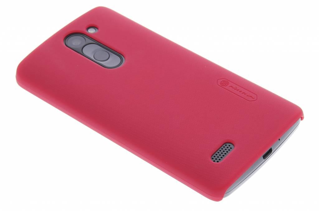 Nillkin Frosted Shield hardcase voor de LG L Bello / L80 Plus - rood