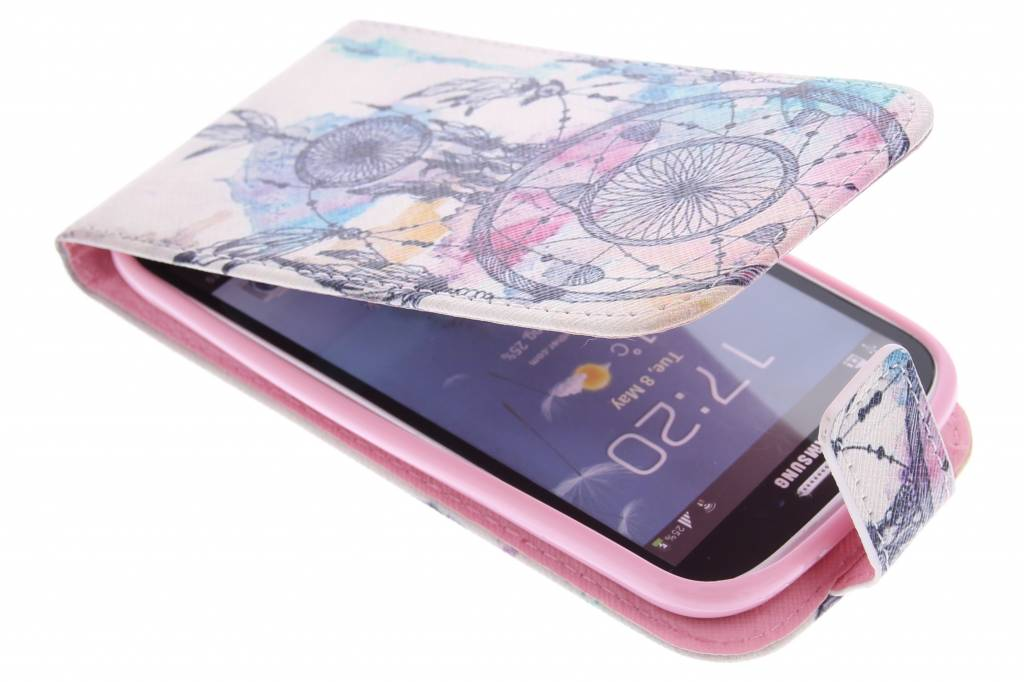 Dromenvanger design TPU flipcase voor de Samsung Galaxy S3 / Neo