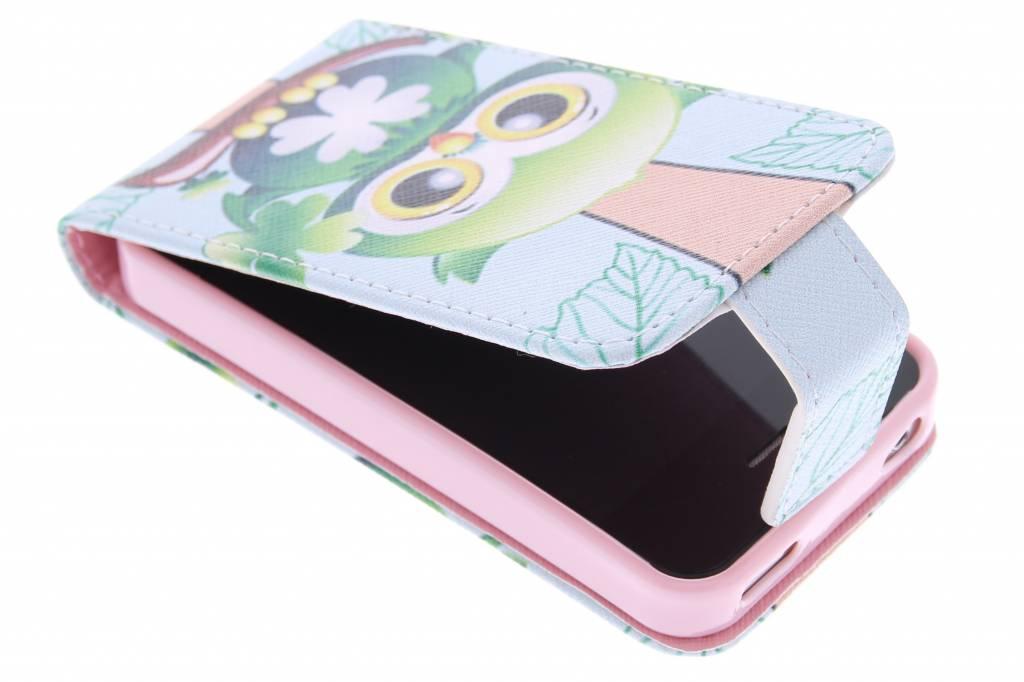Uiltje design TPU flipcase voor de iPhone 4 / 4s