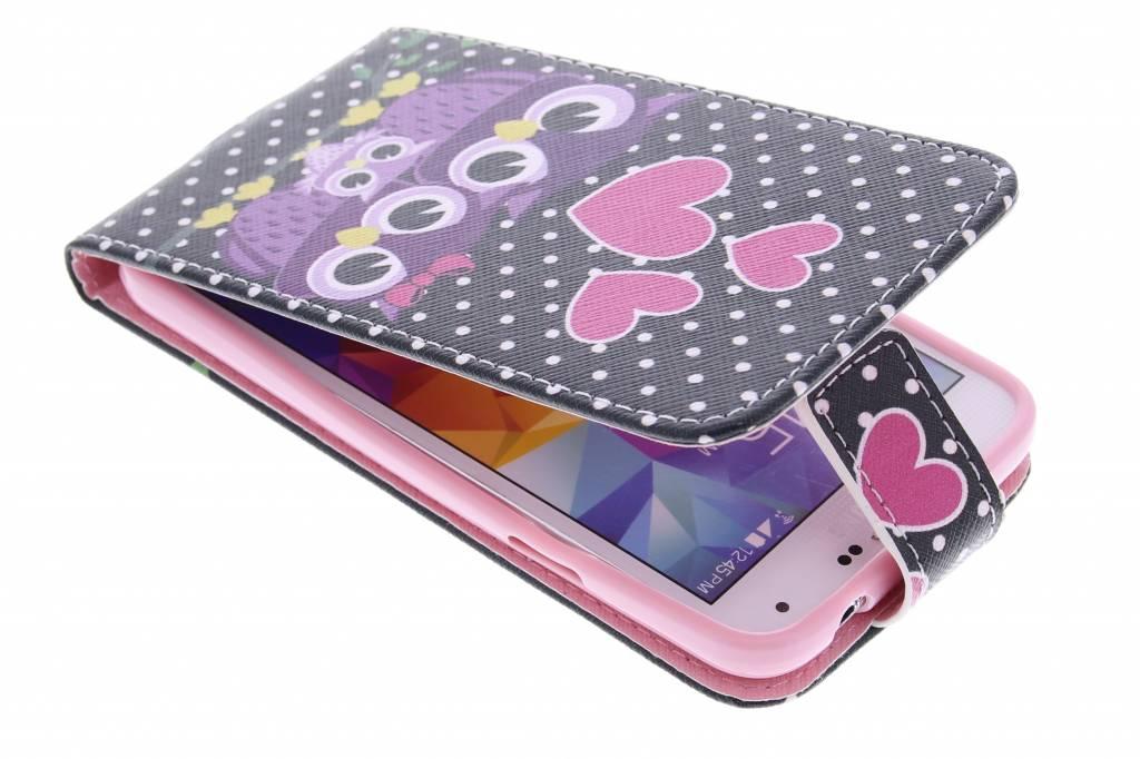 Uiltjes design TPU flipcase Samsung Galaxy S5 (Plus) / Neo