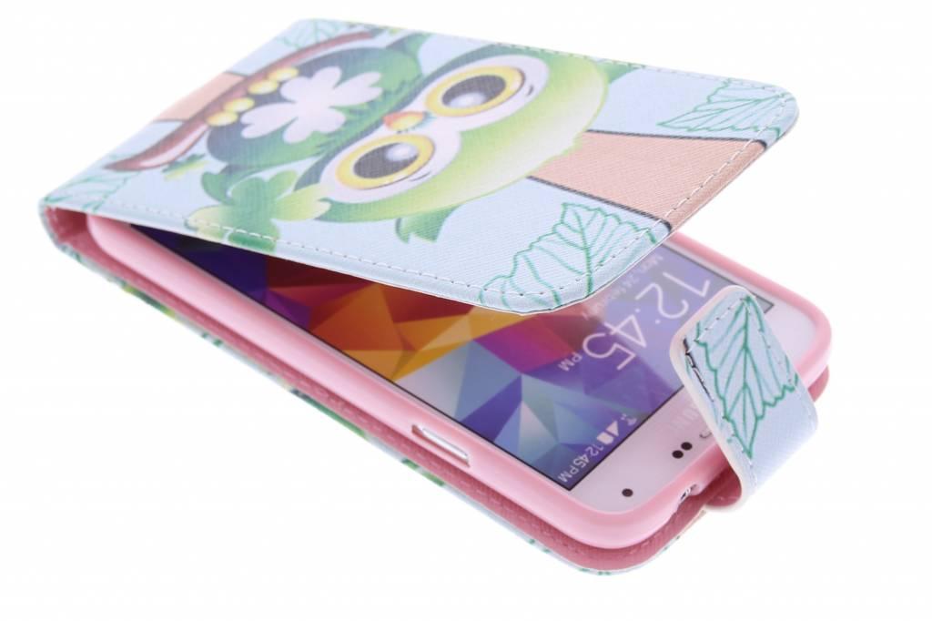 Uil design TPU flipcase Samsung Galaxy S5 (Plus) / Neo