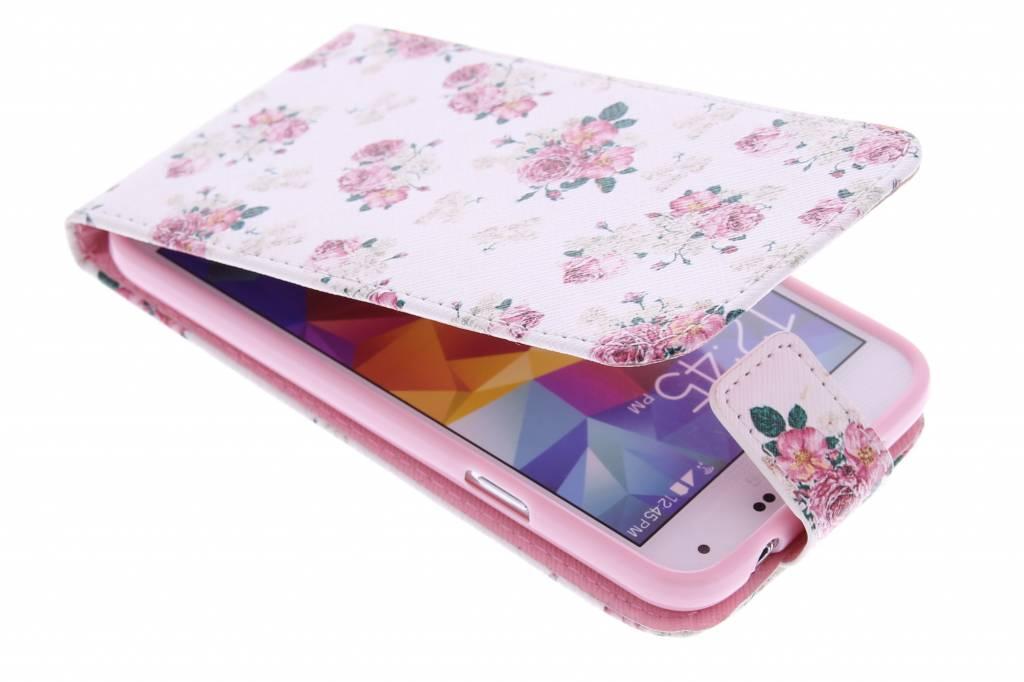 Roosjes design TPU flipcase Samsung Galaxy S5 (Plus) / Neo