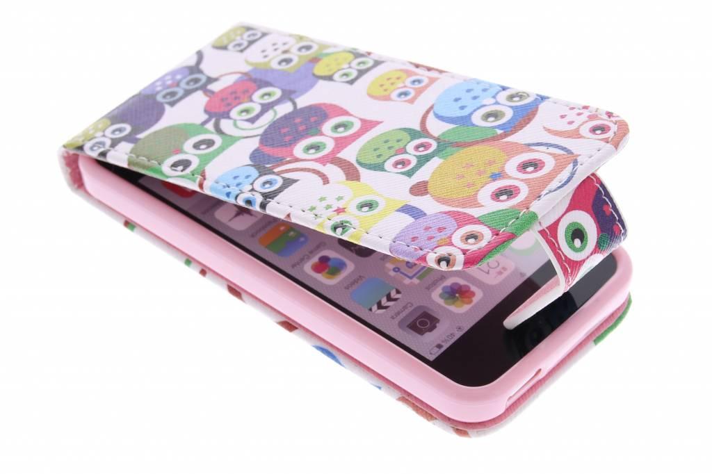 Uiltjes design TPU flipcase voor de iPhone 5c