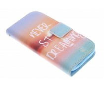 Design TPU booktype Samsung Galaxy Ace 4