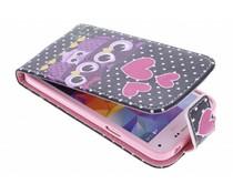 Design TPU flipcase Samsung Galaxy S5 Mini
