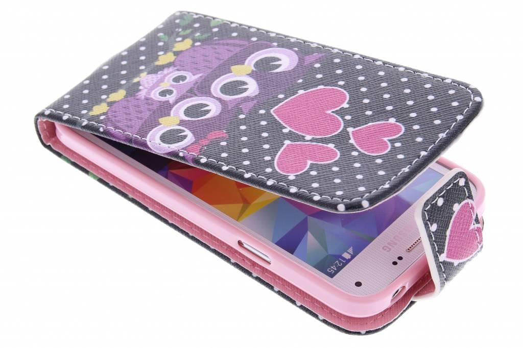 Hiboux Cas Flip Tpu Design Pour Le Mini-samsung Galaxy S MvVfZQ