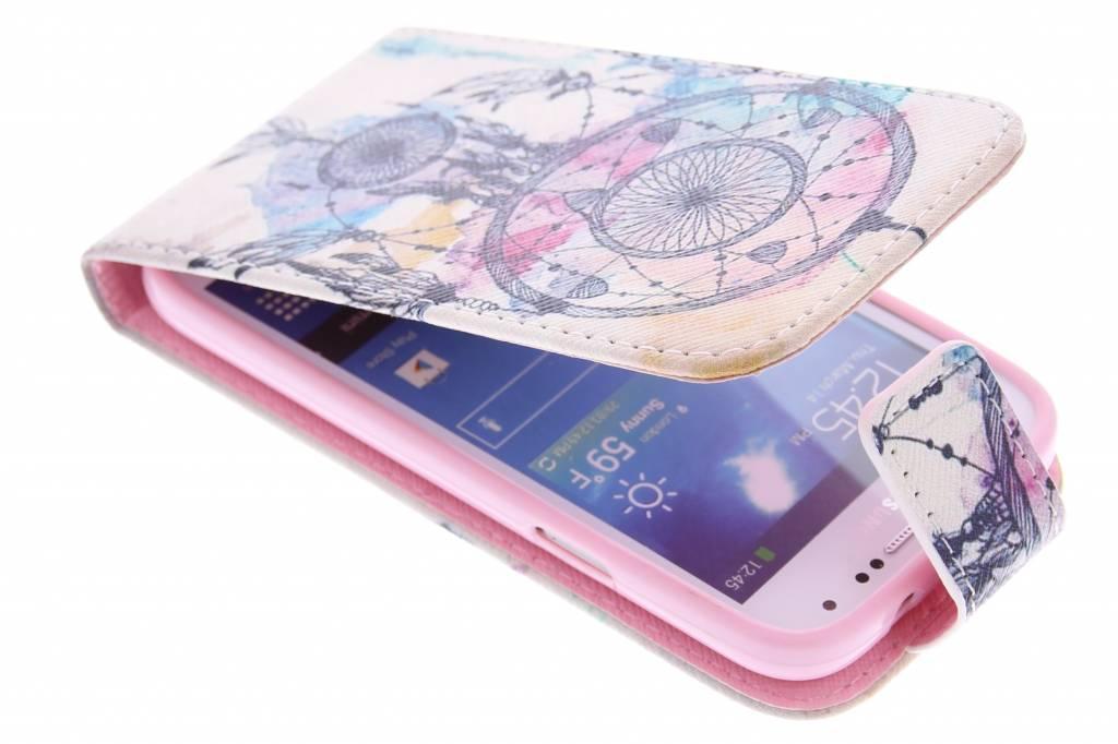Dromenvanger design TPU flipcase voor de Samsung Galaxy S4 Mini