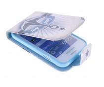 Design TPU flipcase Samsung Galaxy Young 2