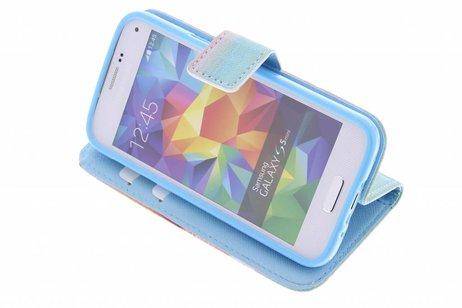 Ne Jamais Cesser De Rêver Cas Booktype Tpu Design Pour Samsung Galaxy Ace 4 LIqH3H0IjD