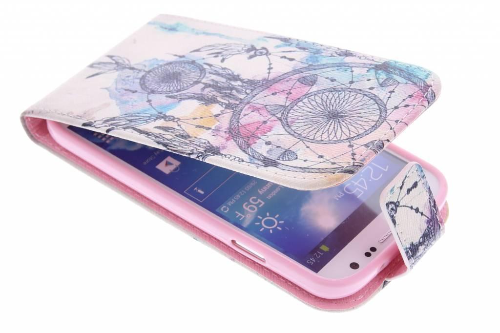 Dromenvanger design TPU flipcase voor de Samsung Galaxy S4