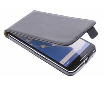 Zwart luxe flipcase Motorola Nexus 6
