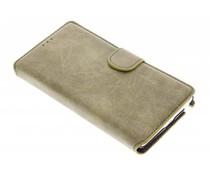 Suède look booktype hoes Samsung Galaxy Note Edge