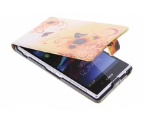 Design flipcase Sony Xperia Z1