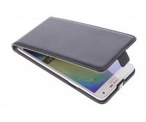 Zwart luxe flipcase Samsung Galaxy A7