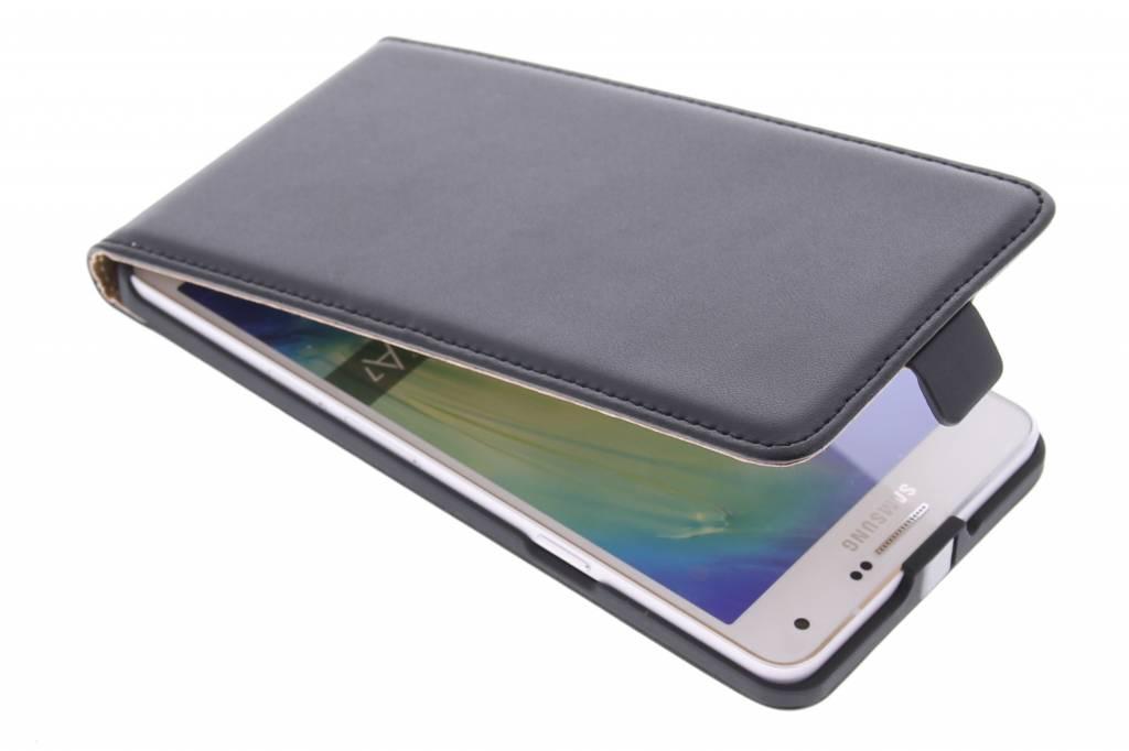 Zwarte luxe flipcase voor de Samsung Galaxy A7
