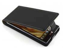 Zwart luxe flipcase LG Optimus L9