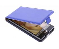 Blauw luxe flipcase LG Optimus L9