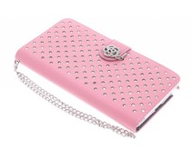 Chique strass booktype hoes Samsung Galaxy Note 4