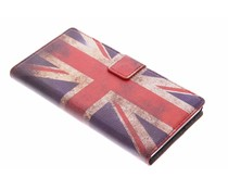 Vintage vlag booktype hoes Sony Xperia Z1