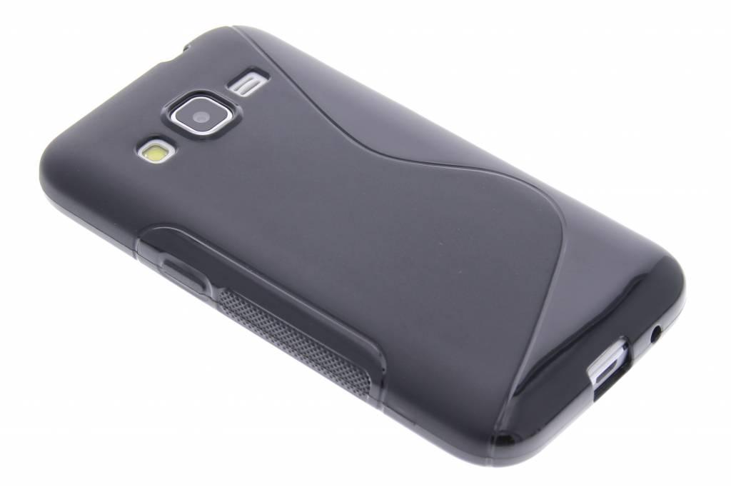 Zwart S-line TPU hoesje voor de Samsung Galaxy Core Prime