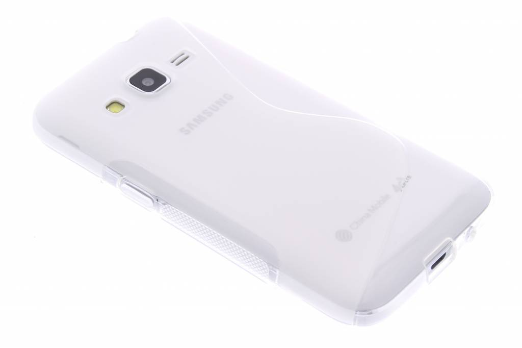 Transparant S-line TPU hoesje voor de Samsung Galaxy Core Prime