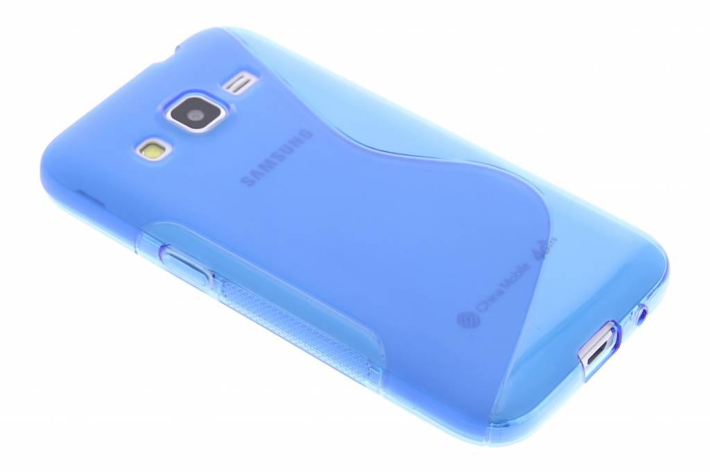 Blauw S-line TPU hoesje voor de Samsung Galaxy Core Prime