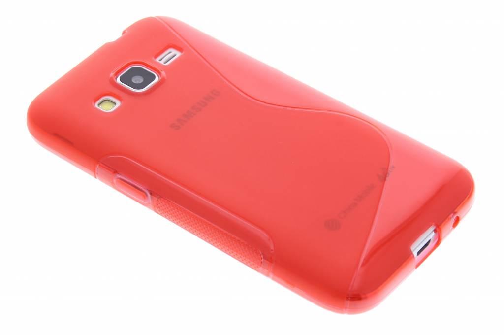 Rood S-line TPU hoesje voor de Samsung Galaxy Core Prime