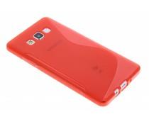 Rood S-line TPU hoesje Samsung Galaxy A7
