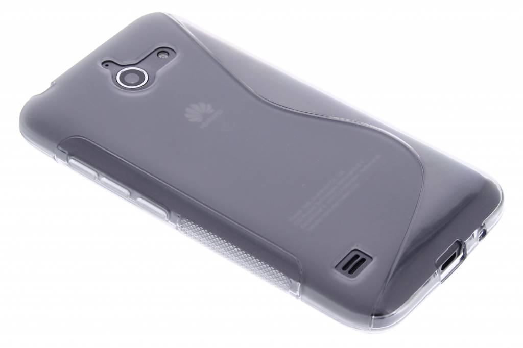 Grijs S-line TPU hoesje voor de Huawei Ascend Y550