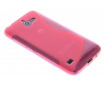 Rosé S-line TPU hoesje Huawei Ascend Y550