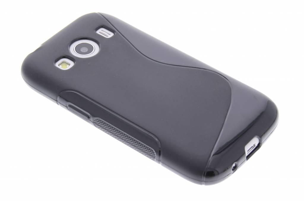 Zwart S-line TPU hoesje voor de Samsung Galaxy Ace 4
