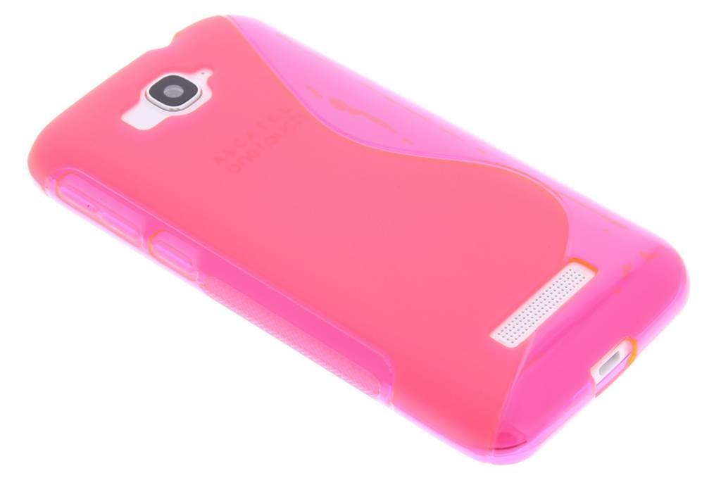 Rosé S-line TPU hoesje voor de Alcatel One Touch Pop C7