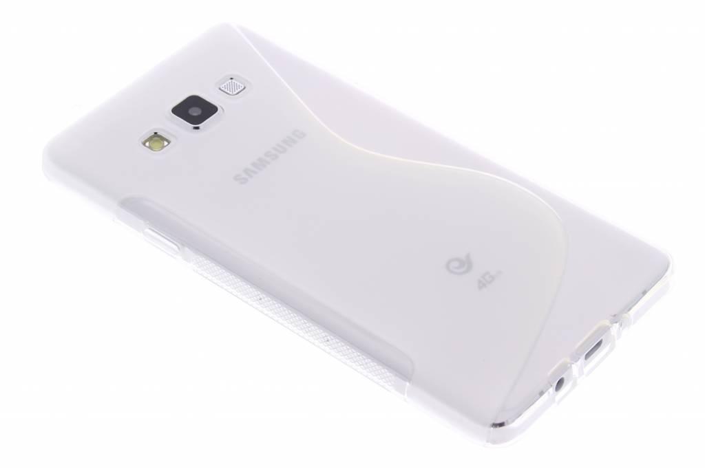Transparant S-line TPU hoesje voor de Samsung Galaxy A7