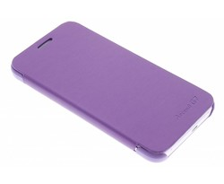 Paars luxe slim booktype hoes Huawei Ascend G7