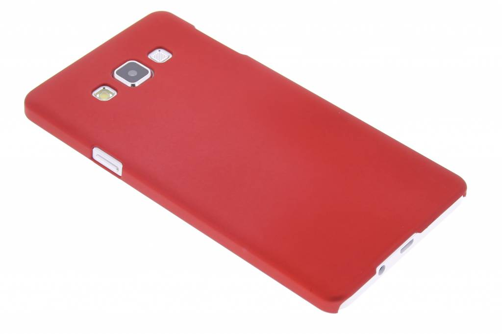 Rood effen hardcase hoesje voor de Samsung Galaxy A7