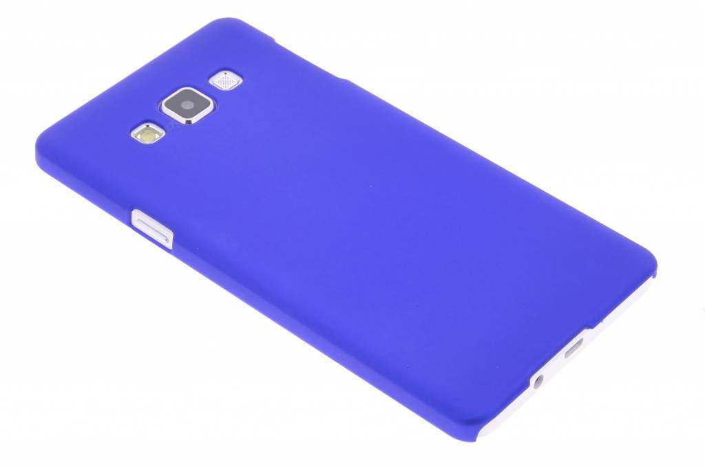 Blauw effen hardcase hoesje voor de Samsung Galaxy A7