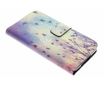 Design TPU booktype hoes Galaxy S5 (Plus) / Neo