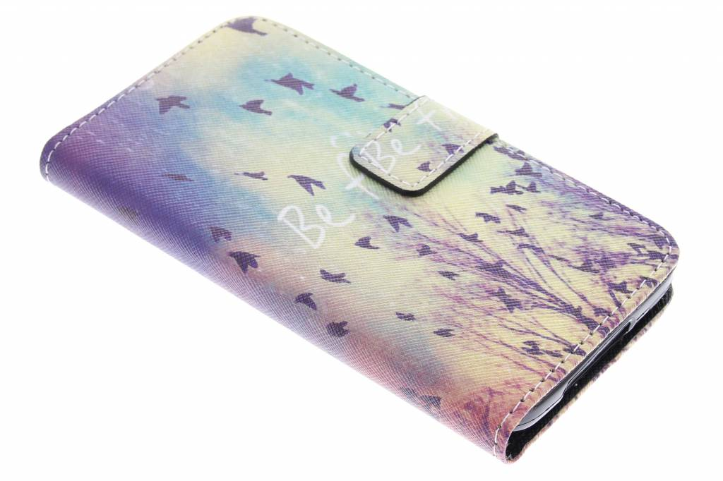 Be free design TPU booktype hoes voor de Samsung Galaxy S5 (Plus) / Neo