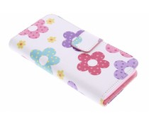 Design TPU booktype hoes Huawei Ascend Y330