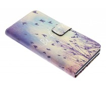 Design TPU booktype hoes Sony Xperia Z3