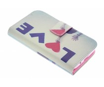 Design TPU booktype hoes Samsung Galaxy Trend 2 (Lite)