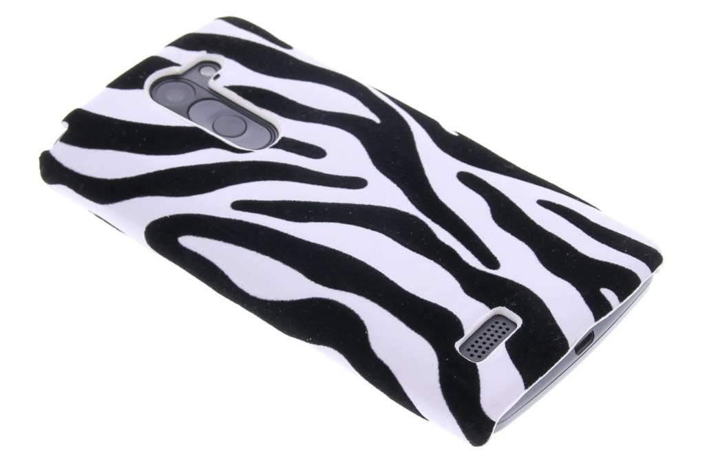 Zebra flock design hardcase hoesje voor de LG L Bello / L80 Plus