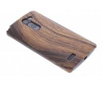 Hout design hardcase hoesje LG L Bello / L80 Plus