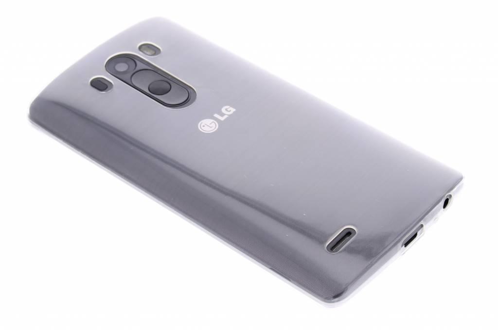 Ultra thin transparant TPU hoesje voor de LG G3