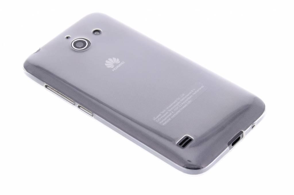 Ultra thin transparant TPU hoesje voor de Huawei Ascend Y550