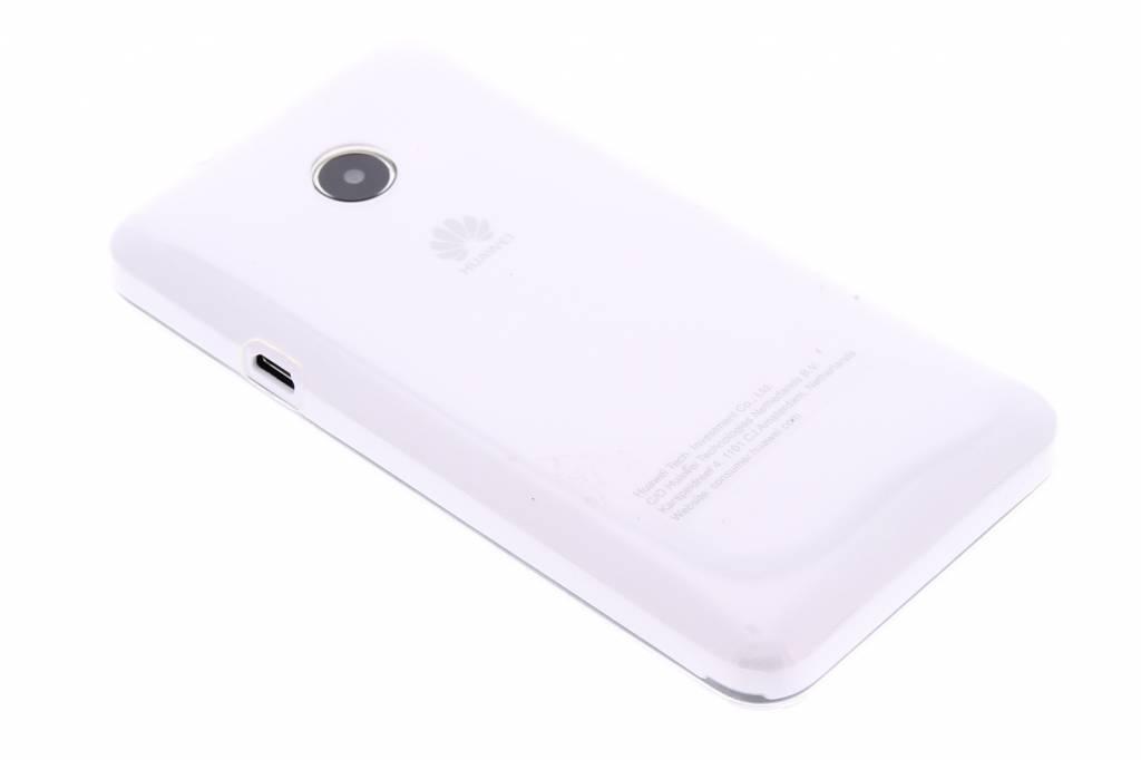 Ultra thin transparant TPU hoesje voor de Huawei Ascend Y330